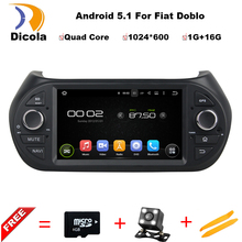 7 Quad Core Android 5 1 font b Car b font DVD Player For Fiat Fiorino