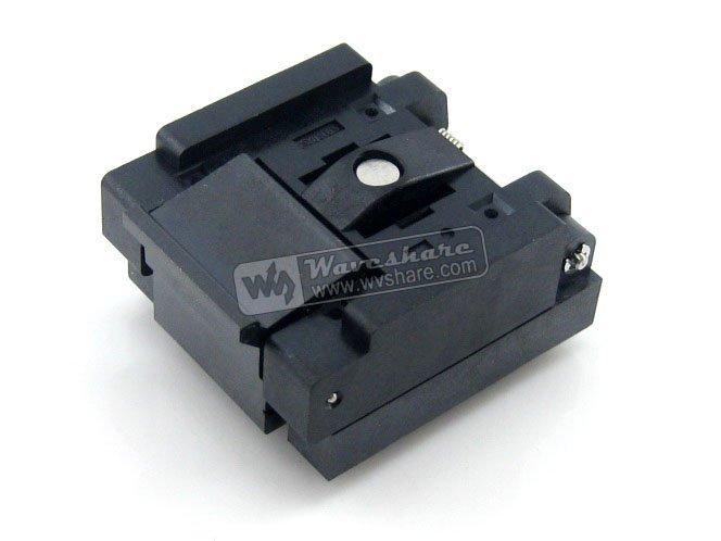 QFN32 MLP32 MLF32 QFN-32(40)BT-0.5-02 Enplas QFN 5x5 mm 0.5Pitch IC Test Burn-In Socket with Ground Pin