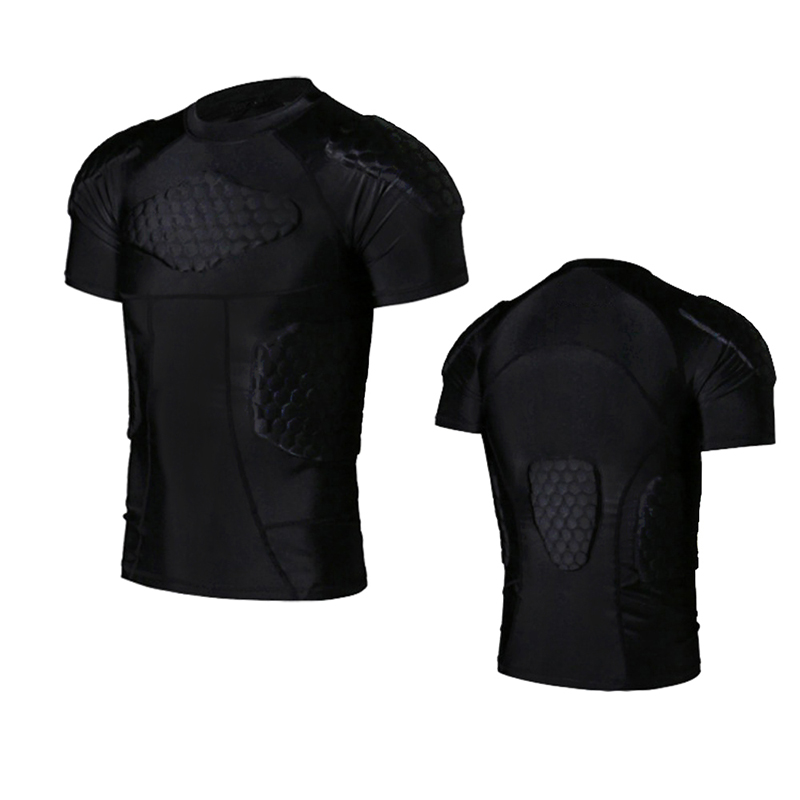 2017 Sports Honeycomb Anti-collision Suit Anti Collision T-shirt Vest Basketball Rugby Collision Equipment