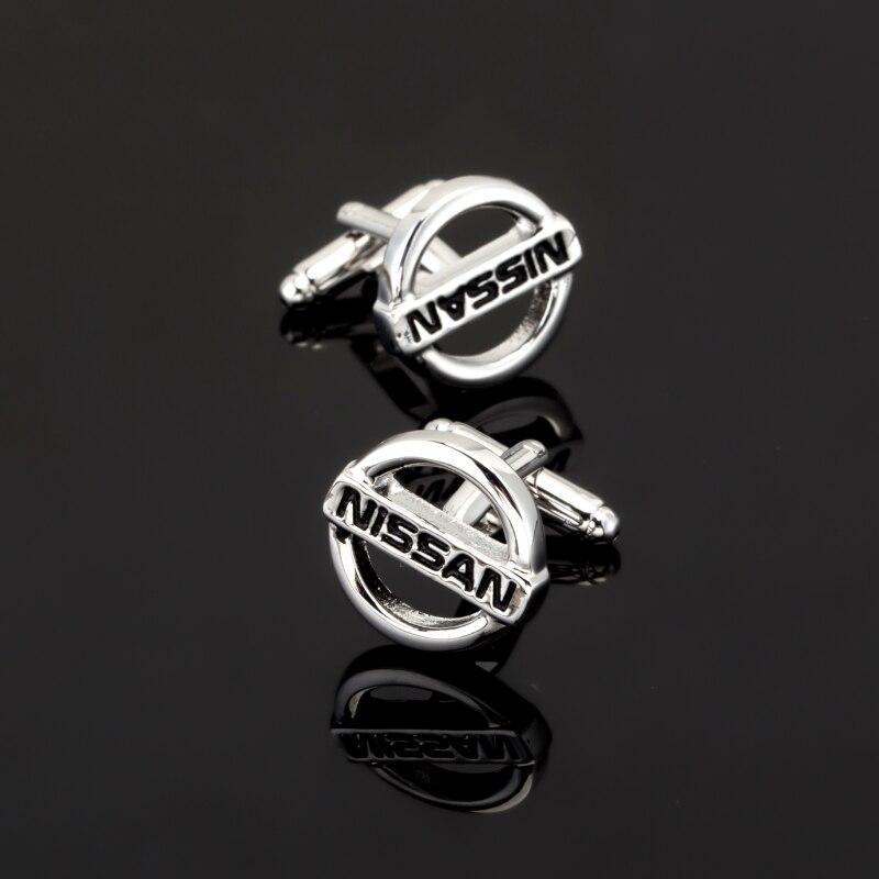 XK126 High quality mens business shirt Cufflinks steam car logo NISSAN Cufflinks French Shirt Mens Clothing accessories