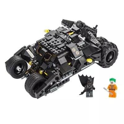 325 pcs Super Héros Batman Course Modèle De Voiture De Camion Technique Building Block SetS DIY Jouets Compatible Avec LegoINGly Batman
