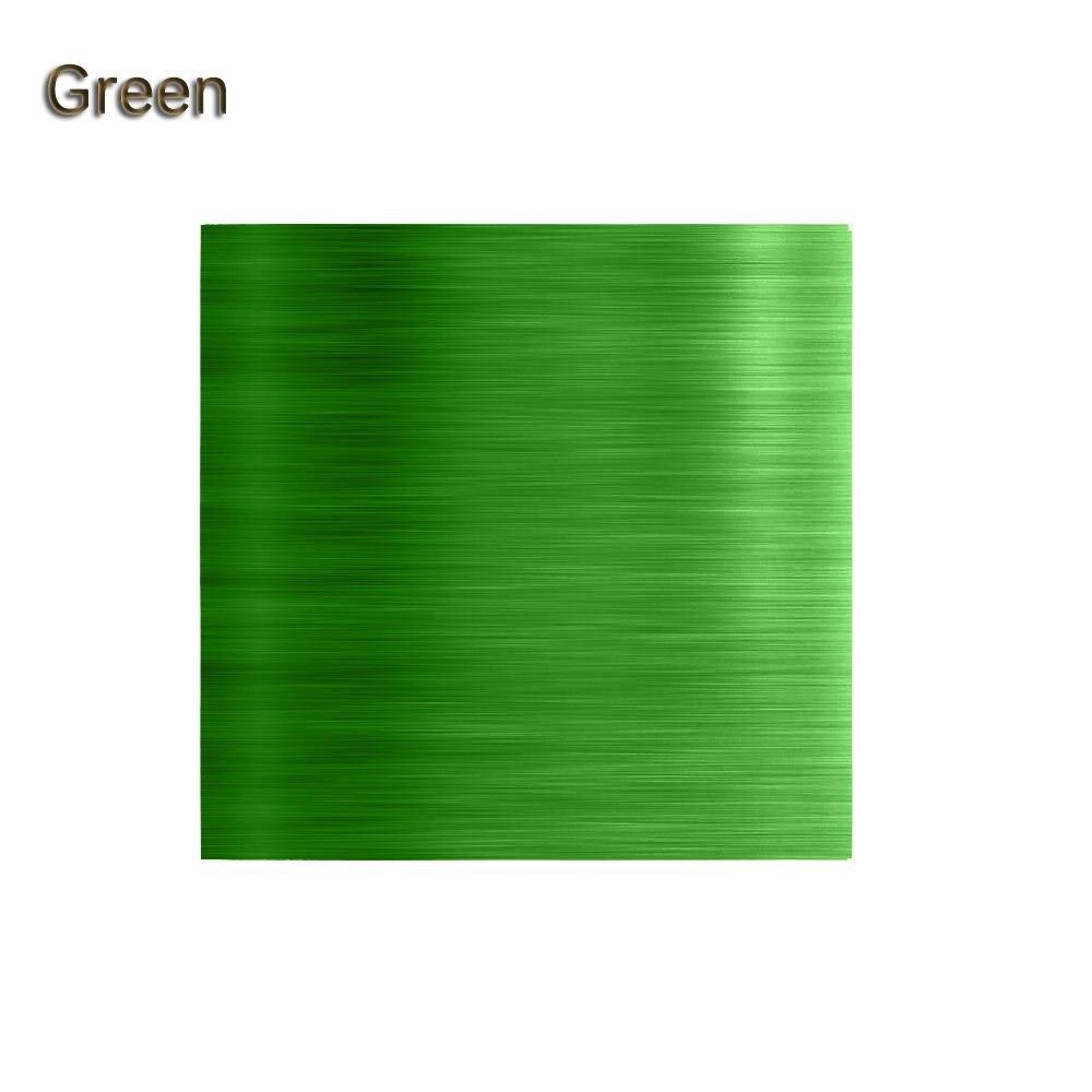 """100 шт./компл. 3,1"""" x 3,15"""" Мути-цвет 8011 еда алюминиевая фольга DIY шоколадные конфеты пакет бумаги 10 цветов - Цвет: Зеленый"""