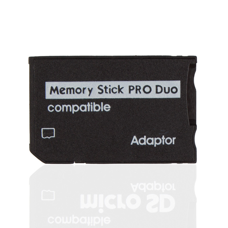 Hot Sale Micro SD TF to Memory Stick MS Pro Duo Reader for Adapter Converter #10243 microsd tf to ms pro duo adapter black 16gb max