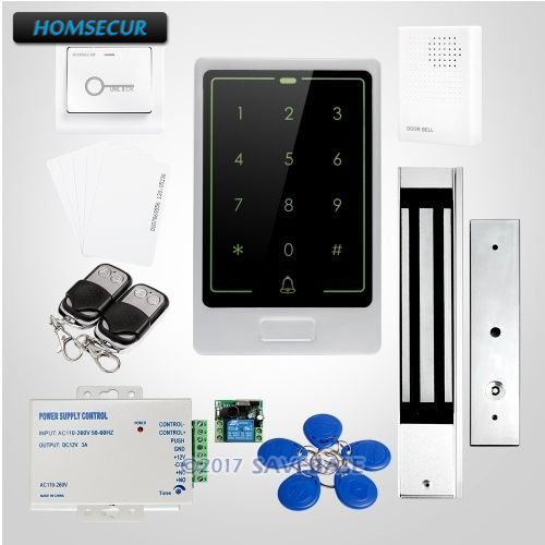 HOMSECUR Waterproof 125Khz RFID Access Control System 3-7cm Reading Distance For Easy OperationHOMSECUR Waterproof 125Khz RFID Access Control System 3-7cm Reading Distance For Easy Operation