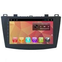 9 Android Autoradio Car Multimedia Stereo GPS Navigation DVD Radio Audio Sat Nav Head Unit for Mazda 3 2010 2011 2012 2013