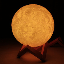 3D Printing Night Light Venus LED Lamp Rechargeable Lighting For Bedroom Desk Home Decoration –M25