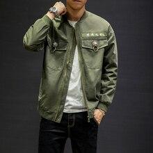 544c7293d69 Male Hip Hop Streetwear Loose Coat Men Chinese Style Lion Lock Fashion Hip  Hop Casual Jacket