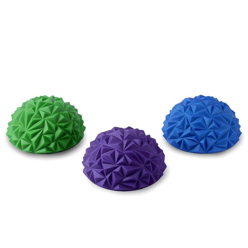 1 stücke Kinder's Sinn Ausbildung Yoga Halb-ball Wasser Cube Diamant Muster Ananas Ball Fuß Massage Ball Spielzeug fitness Bälle