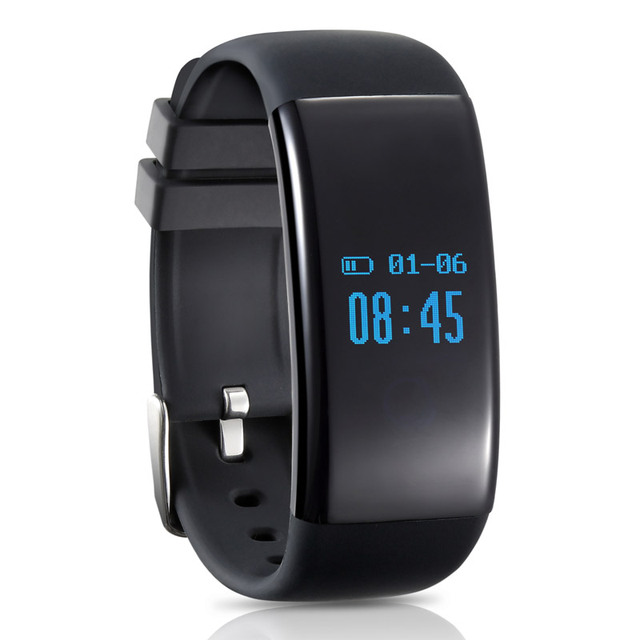 Waterproof Smart Wristband with Heart Rate Monitor