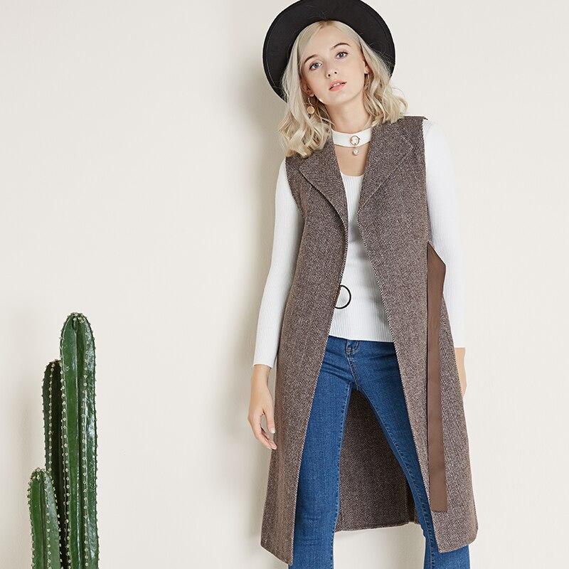 Sans Gilet brown Mélange Femmes Cardigan Long Laine Plus Femme Black Veste Solide Taille À grey Manteau Manches De Hiver nSqCpw8Rxw