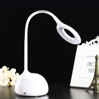 LED Table Lamp Touch Sensor Eye Protection Lamp For Kids Gift RGB Changeable Color Ring For