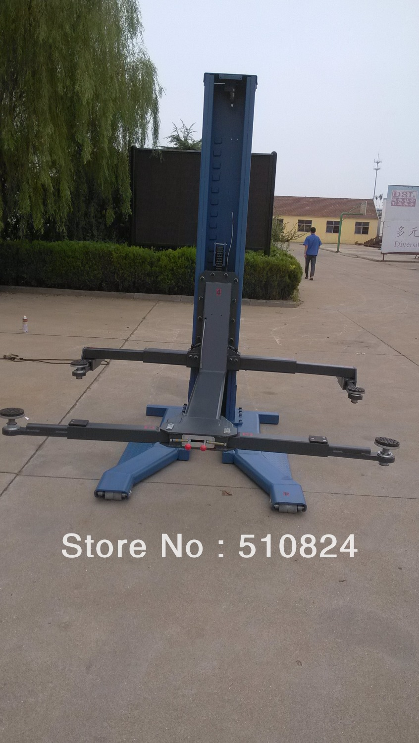 Used Single Post Car Lifts For Sale Cheap Home Garages