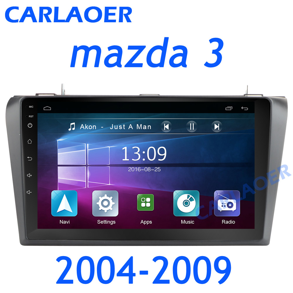 Image 2 - For Mazda 3 2004 2013 maxx axela android 8.1 Car DVD GPS Radio Stereo 1G 16G WIFI Free MAP Quad Core 2 din Car Multimedia Player-in Car Multimedia Player from Automobiles & Motorcycles
