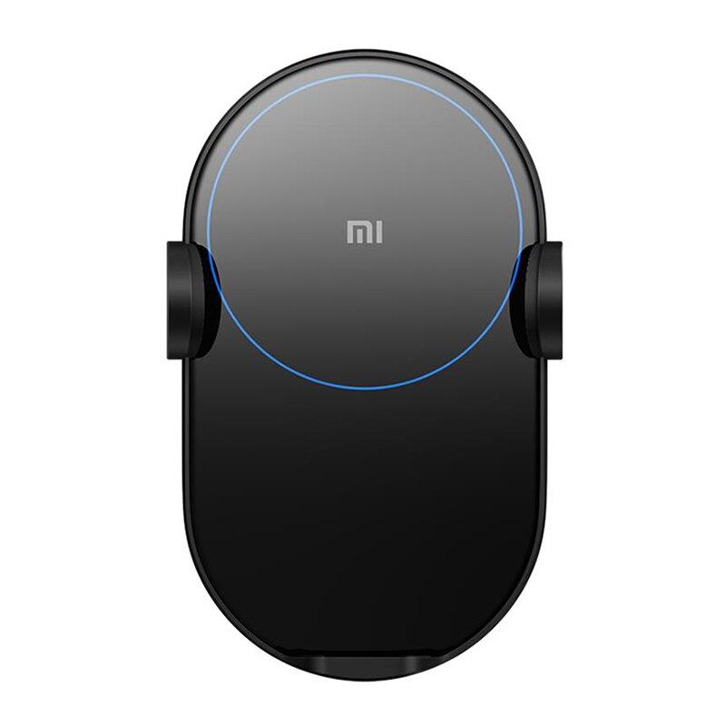 Xiao mi voiture sans fil ch-arger 20W Max électrique pince automatique 2.5D anneau de verre Lit de charge pour Xiao mi mi Smartphone 2