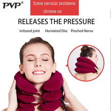 Inflatable Air Cervical Neck Traction Device Soft Neck Collar for Pain Relief Neck Stretcher Pain Releave цены онлайн