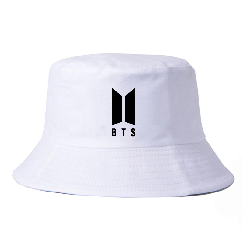 60b1511950c fashion Men Women panama hat BTS bucket hats Summer outdoor fishing  fisherman cap bts k pop harajuku caps