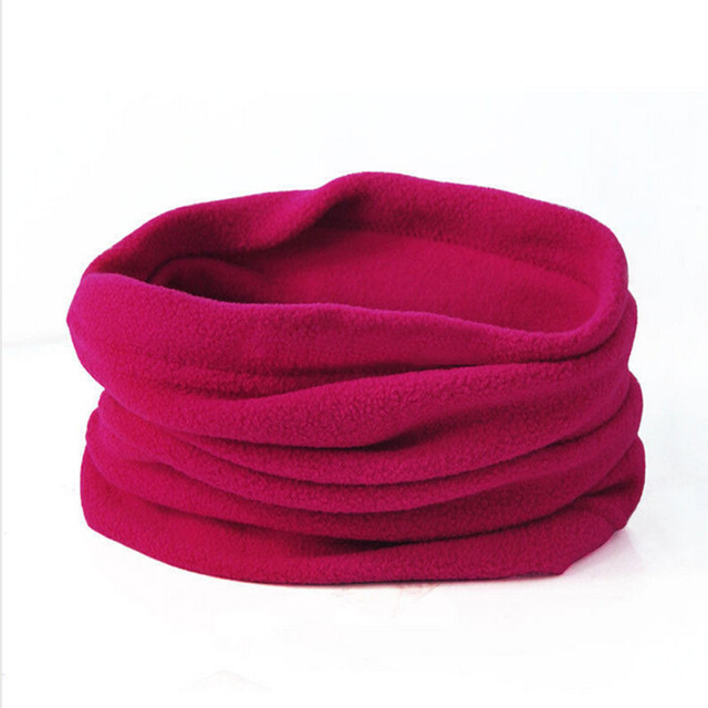 Soft Fleece Hiking Scarf