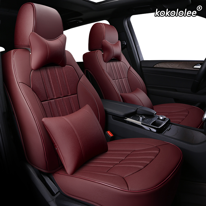 kokololee Custom Leather car seat cover For LEXUS ES ES250 ES350 ES300h ES240 ES200 ES260 CT CT200h Automobiles Seat Covers