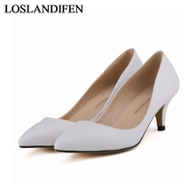 Luxury Fashion Sexy High Heels Women Pumps Spring Autumn Ladies Shoes Woman Chaussure Femme Zapatos Mujer NLK-B0026 2017 rushed dames schoenen ladies shoes woman zapatos mujer women high heels chaussure femme pumps sapato tacon valentine 1392