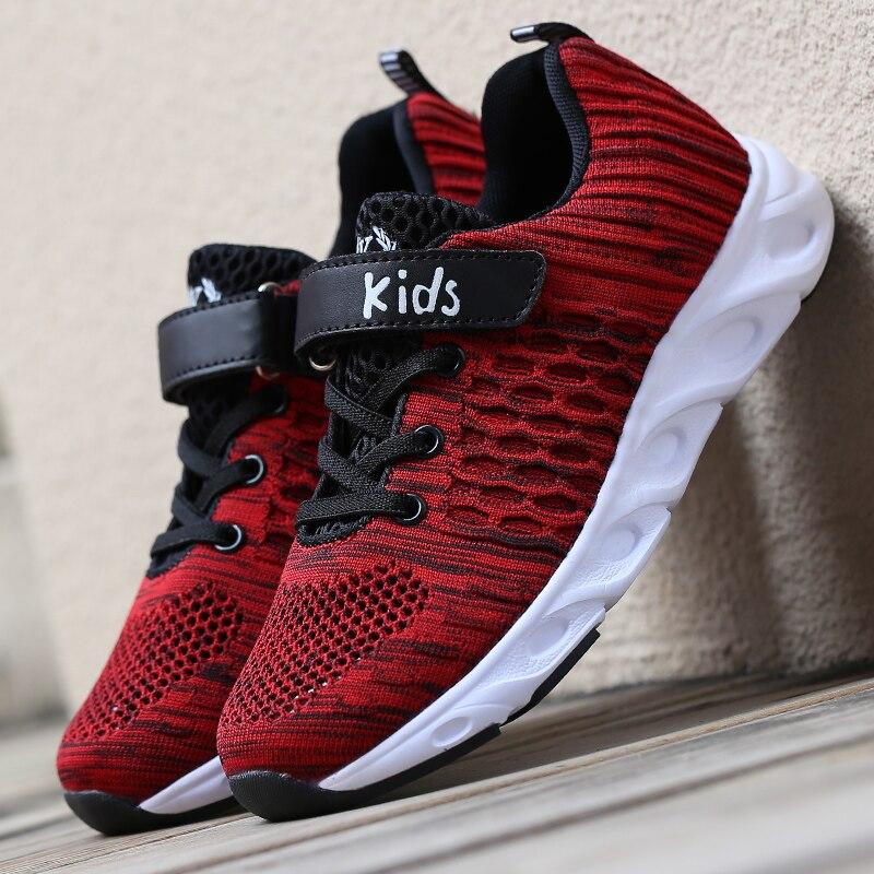 Ulknn Sneaker Für Kinder Schuhe Kinder Sport Laufschuhe Mesh Atmungsaktive Schuhe Student Trainer Schuhe Chaussure Enfant Jungen