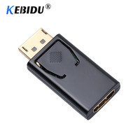kebidu Display Port DP Male to HDMI Female DisplayPort Converter Cable Adapter Video Audio connector Fit for MacBook Pro Air