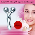 Japanese Quality Kakusan MINI Facial massage roller Beauty instrument Face massager Ytype Face lift tools & Body shape massager