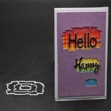 Glita Creatif Border Frames Card Making Scrapbooking Dies Metal Crafts Layering Cutting decoration background die cut