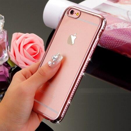 Dropwow Kerzzil For iPhone 7 6 6s 8 Plus Diamond Case For iPhone X ... ce9cb6fcd4e6