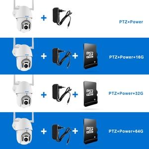 Image 4 - Smar 1080P 클라우드 스토리지 무선 PTZ IP 카메라 스피드 돔 CCTV 보안 카메라 야외 ONVIF 양방향 오디오 P2P 카메라 와이파이