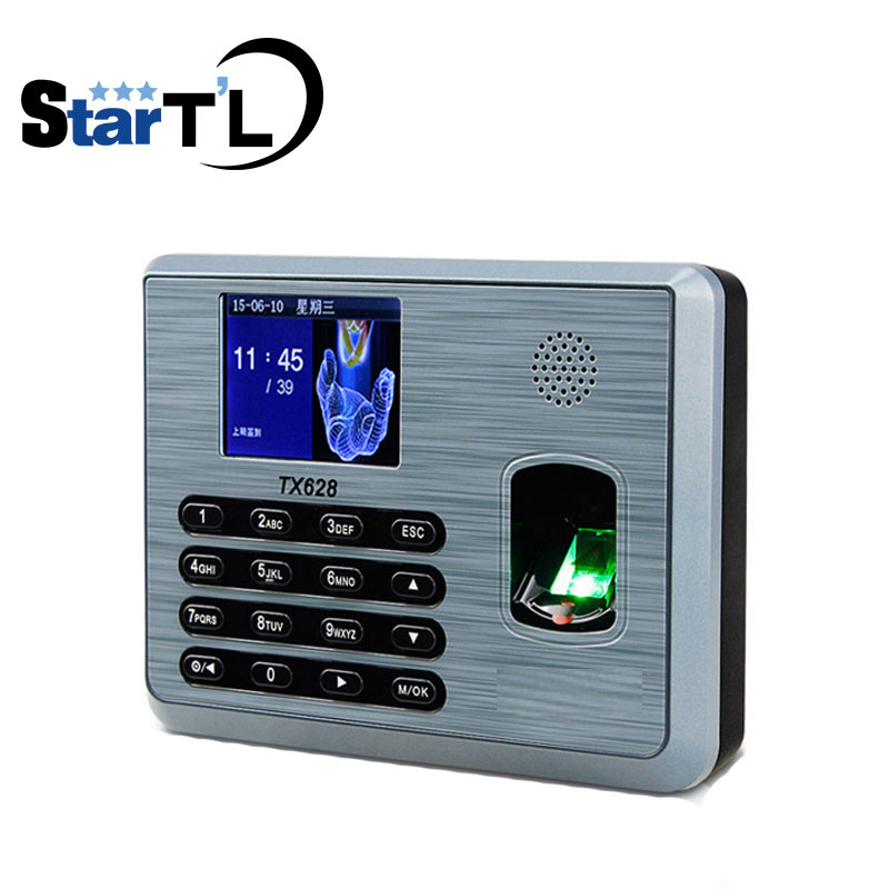 Free Software New Firmware Biometric Fingerprint Time Attendace fingerprint Time Attendance System TX628 new time new time a54