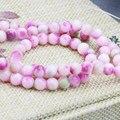 Peculiar Semi-precious Stone Accessories 6mm Multicolor Jade Jasper Beads Round DIY Jade Stones 15inch Jewelry Making Design