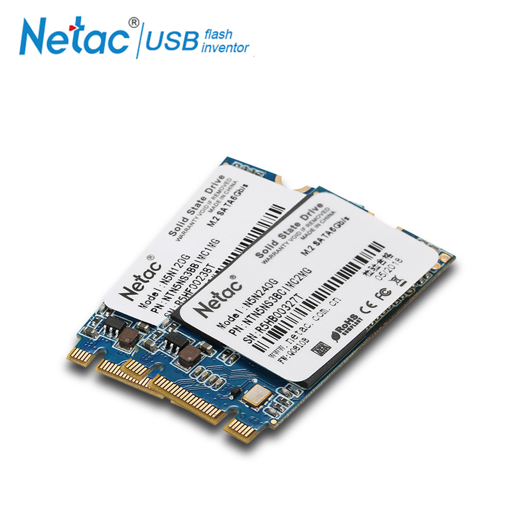 Netac SSD M.2 2242 Hard Drive 240 GB 120GB Internal Solid State Drive MLC N5N Sata 3.0 Solid Hard Drive For Laptop PC Computer ssd 756642 b21 240 gb 2 5inch sata 6g solid state drive 1 year warranty