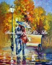 palette knife oil painting  modern oil painting canvas oil painting  K606