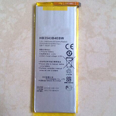 ALLCCX high quality mobile battery HB3543B4EBW for <font><b>Huawei</b></font> <font><b>P7</b></font> <font><b>L07</b></font> L09 L00 L10 L05 L11 with good quality and best price image