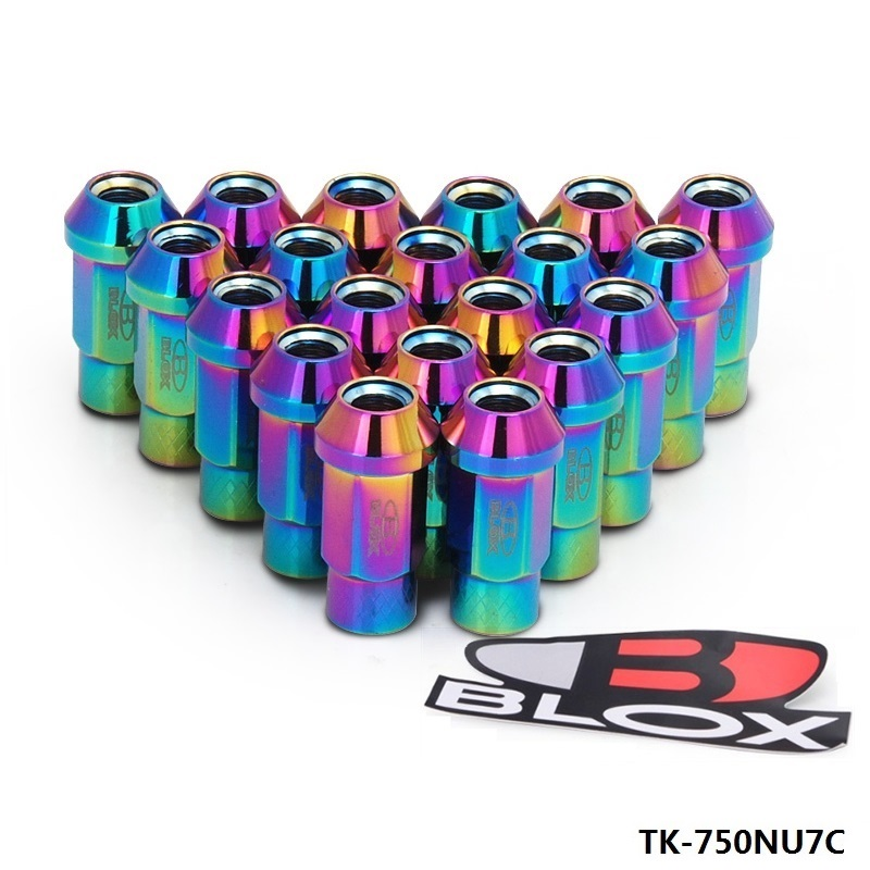 Hubsport - Blox Forged 7075 Aluminum Racing Lug Nuts   L: 50mm(20Pcs/Set)  750NU7C