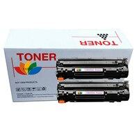 2 Compatible CB435A 35A Toner Cartridge for HP Laserjet P1005 P1006 P1007 P1008 P1005n P1006n P1007n P1008n Printer