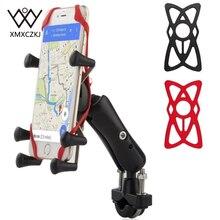 دراجة متعدد الأغراض دراجة دراجة نارية MTB الدراجة حامل هاتف قابل للتعديل السكك الحديدية جبل/X قبضة حامل هاتف لفون ل سامسونج ل GPS