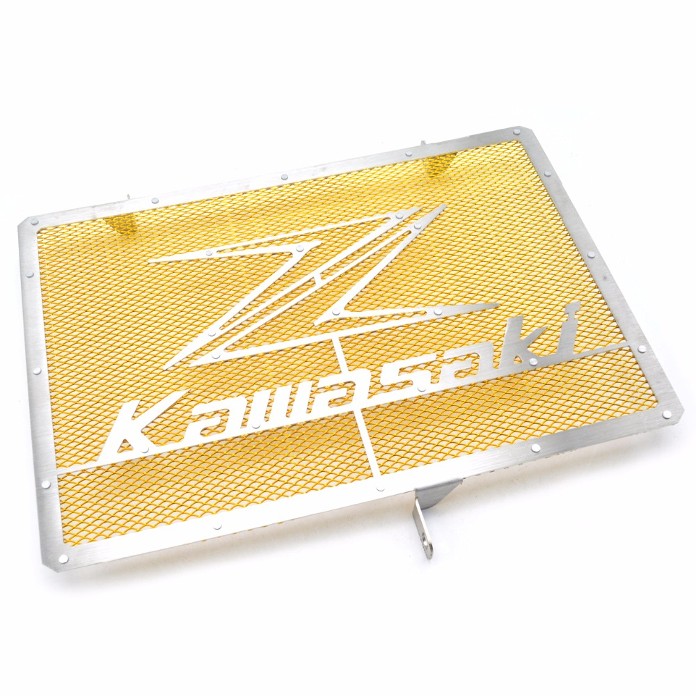 Motorbike Radiator Protective Cover Grill Guard Grille Protector For Kawasaki Z750 Z1000 2007-2011 2012 2013 2014 2015 2016 2008 motorcycle stainless steel radiator guard protector grille grill cover for kawasaki z750 2010 2011 2012 2013 2014 2015 2016