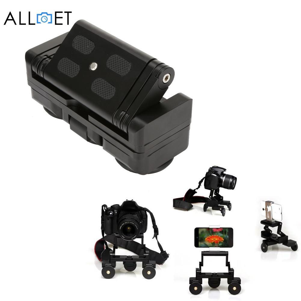 Desktop Камера вагоностроительный Таблица Долли автомобилей Видео слайдер Трек для Canon 60D 650D 550D Nikon Sony DSLR Камера GoPro телефон
