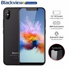 BLACKVIEW A30 телефон 2 ГБ Оперативная память 16 ГБ Встроенная память смартфон 5,5 «19:9 Дисплей полный Экран MT6580A 4 ядра 8MP Android 8,1 3g мобильного телефона