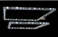 Modern Crystal Chandelier LED Crystal Chandelier Light Fixture With Beautiful K9 Crystal Guaranteed 100 Free Shipping