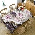 3d-скатерть с рельефным цветком  креативная цветная моющаяся плотная прямоугольная скатерть с цветочным узором для свадьбы