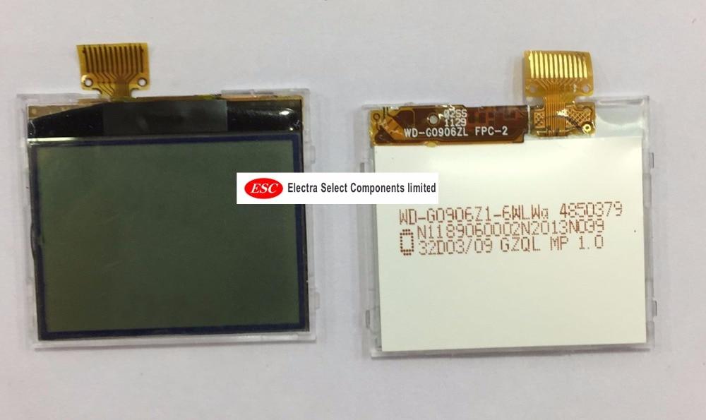 ESC 200pcs lot LCD Display Screen Panel Monitor For Nokia Asha 1202 N1202 1203 1280 LCD