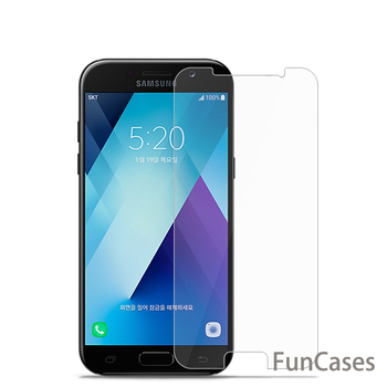 Tempered Glass for Samsung Galaxy A3 A5 A7 2017 J1 J2 J3 J5 J7 A3 A5 A7 2016 J120 J510 Screen Protector Protective Film image