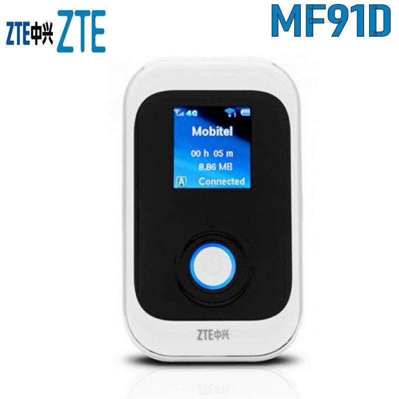 Routeur ZTE MF91D 4G LTE-prend en charge jusqu'à 10 utilisateurs