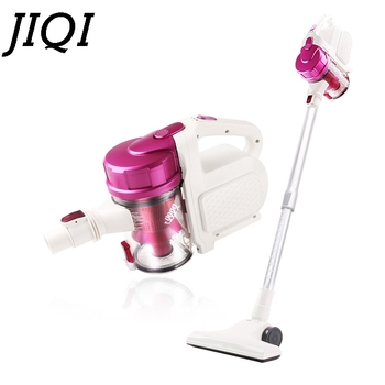 JIQI Cordless Rod Vacuum Cleaner Rechargeable Car Auto Wireless Dust Collector Aspirator Handheld Cleaning Mop Machine 110V 220V