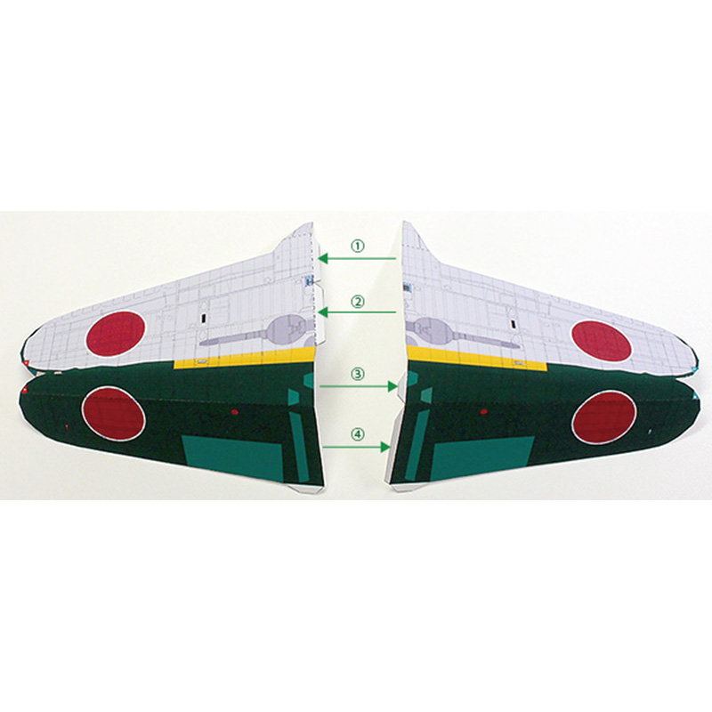 🛒 DIY 1: 48 Japanese A6m5a Zero Fighter Carrier Aircraft WWII
