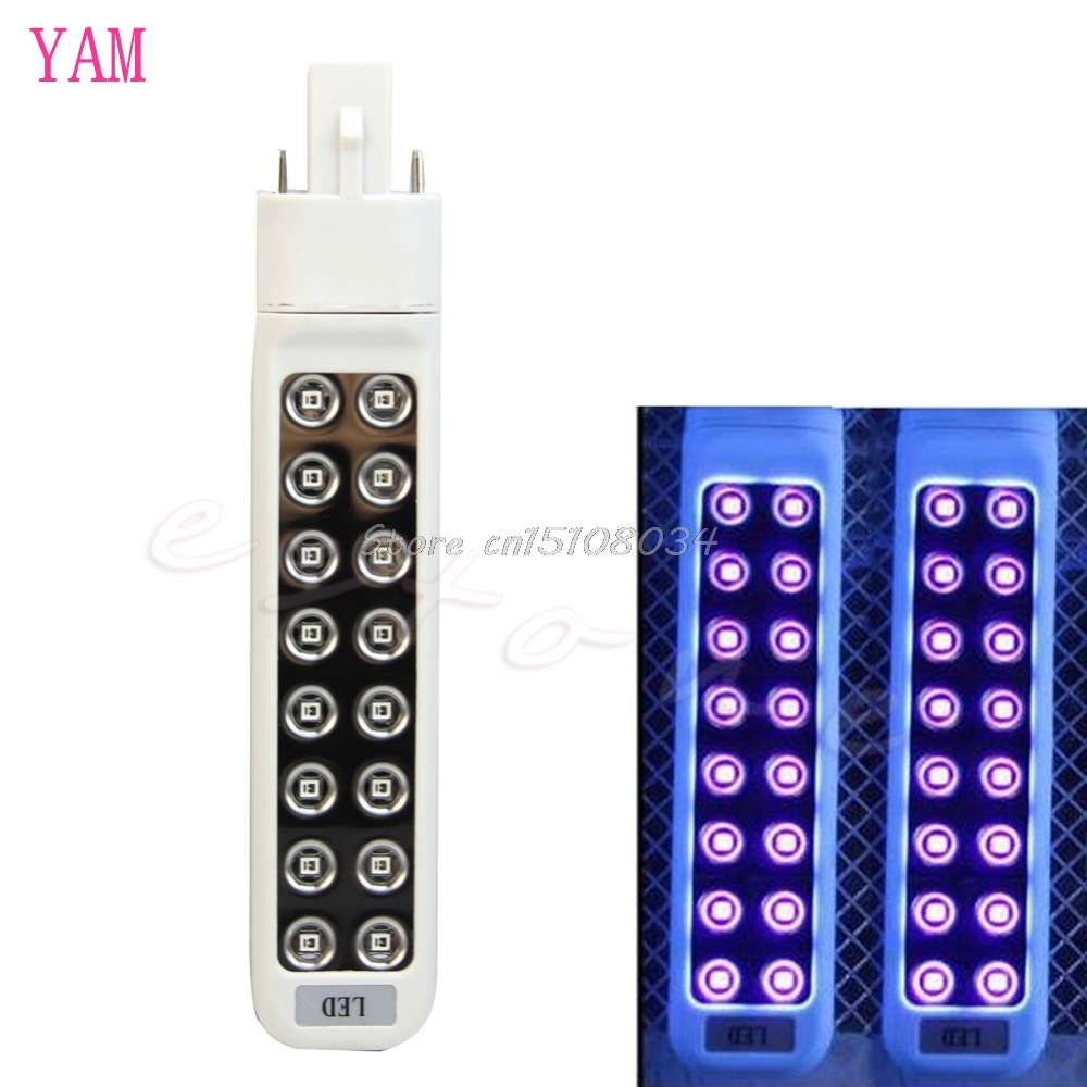 7W LED Nail Dryers Tools Light Bulb For UV Lamp Art Gel Polish Dryer Tube New #S018Y# High Quality new pro 48w nail lamp manicure dryer fit uv led builder gel all nail polish nail art tools sun5 professional machine