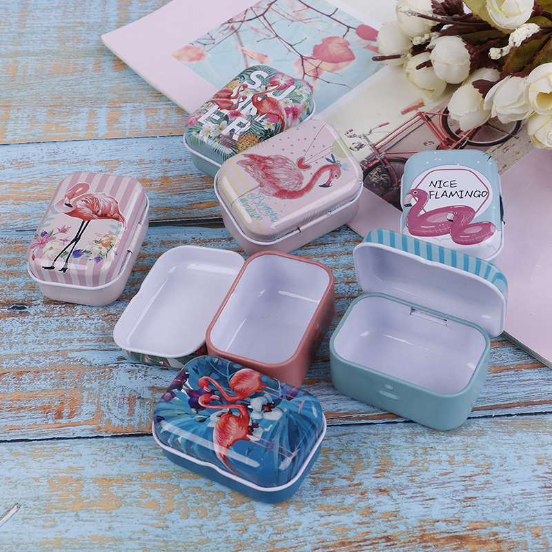 Small Storage Boxes Jewelry Gift-Box Sealed-Jar Coin-Earrings Candy-Box Headphones Cans