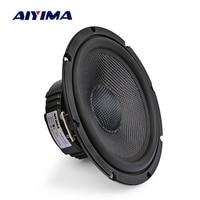 AIYIMA 6.5 Inch Glass Fiber Midrange Bass Speakers 4 8 Ohm 40W Hifi Woofer Audio Loudspeaker Bookshelf Multimedia Home Theater